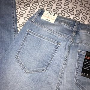 Cello Jeans - NEW CELLO High Rise Crop Skinny Jeans
